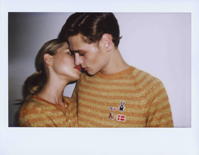 La collection 70's de Maison Kitsuné x Peter Jensen