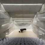 Konzerthaus Blaibach Peter Haimerl monolithe architecture minimaliste