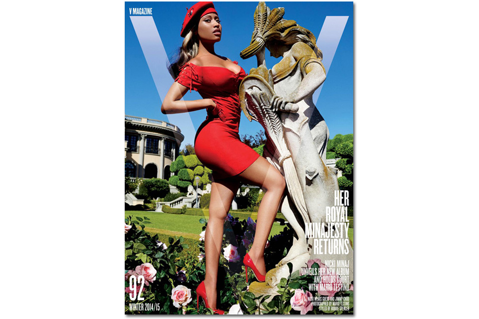 « NICKI MINAJ RETURNS », le shooting minajestueux de la rappeuse pour le V Magazine