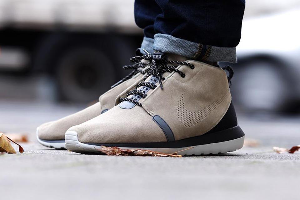 Nike Roshe Run NM Sneakerboot «Bamboo»