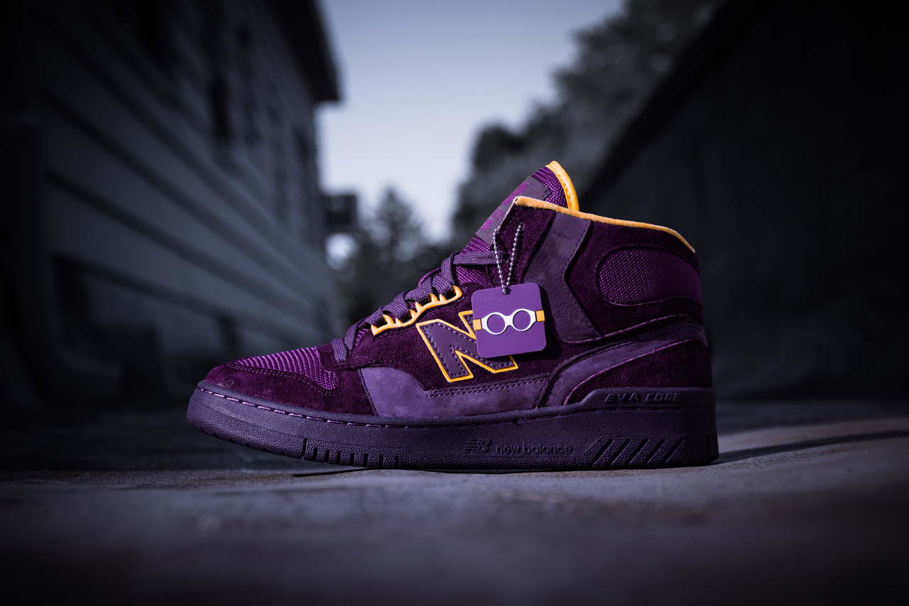 Packer Shoes x New Balance 740 «Purple Reign»