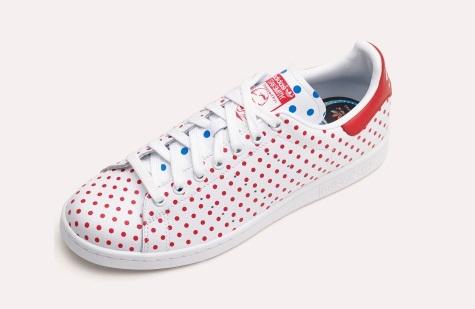 Les pois de Pharrell Williams pour Adidas Originals