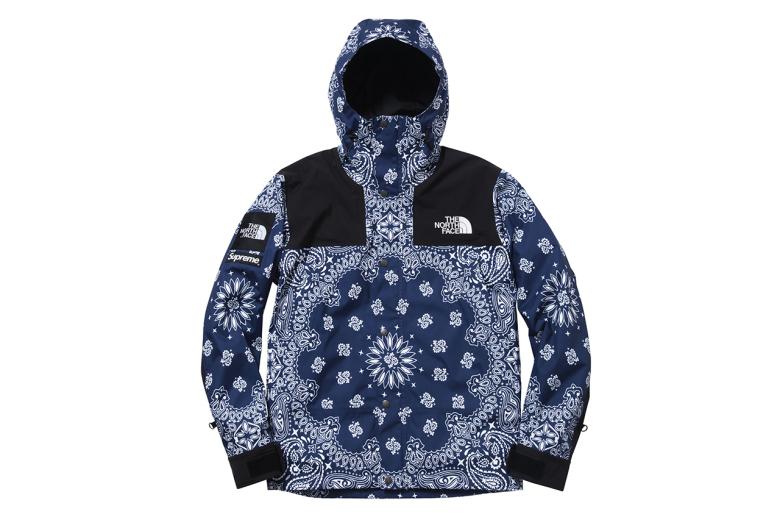Supreme X The North Face Automne/hiver 2014