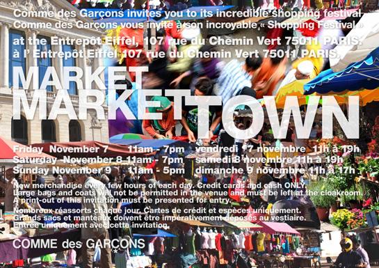 Votre invitation à la braderie-événement de Comme des Garçons