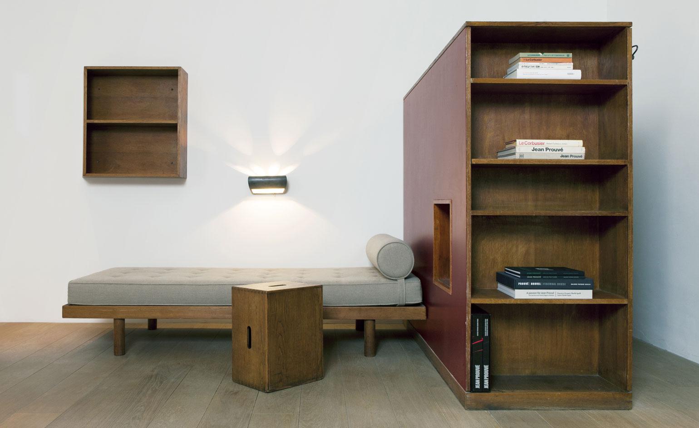 Jean Prouvé, Le Corbusier et Charlotte Perriand à la galerie Patrick Seguin