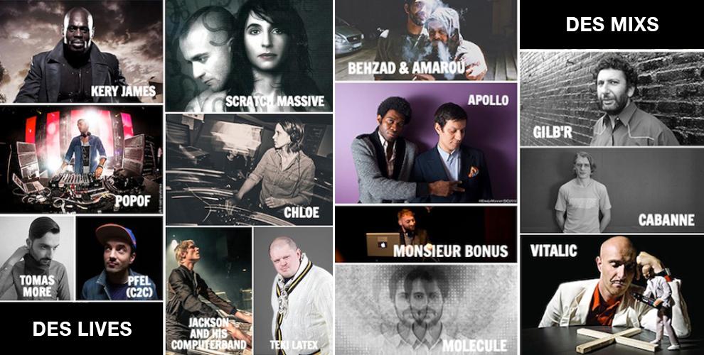 RADIOMARAIS : son festival « 2015 commence le 15 »