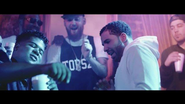Drake s'offre un bain de foule à Hollywood