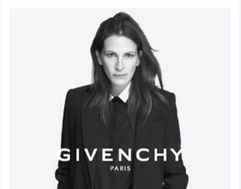 Julia Roberts sera la prochaine égérie de Givenchy