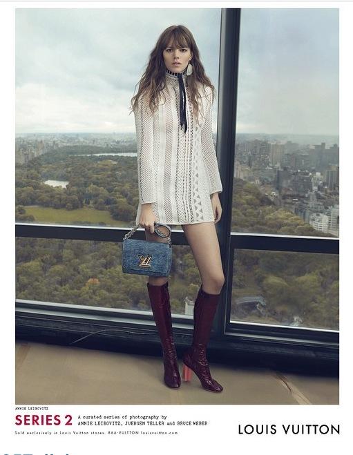 Nicolas Ghesquière a dévoilé au travers de son compte Instagram les images de la prochaine campagne de pub Louis Vuitton, révélant au passage les personnalités qui incarneront l'image de la Maison pour la saison printemps-été 2015.