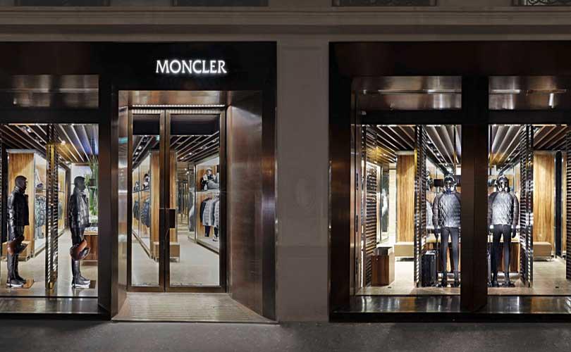 Moncler ouvre sa première boutique homme parisienne