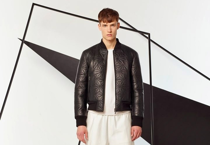 La pré-collection homme printemps 2015 de Neil Barrett