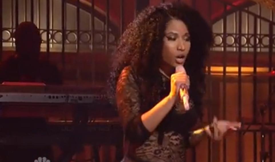 L'énorme prestation de Nicki Minaj au Saturday Night LIve