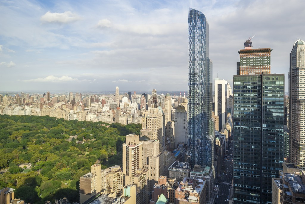 One57 Portzamparc skyline