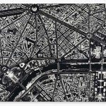Black scalpel cityscapes damien hirst