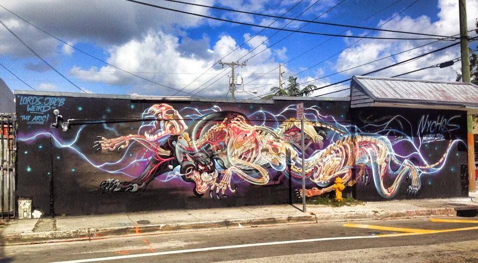 Street Art Basel Miami