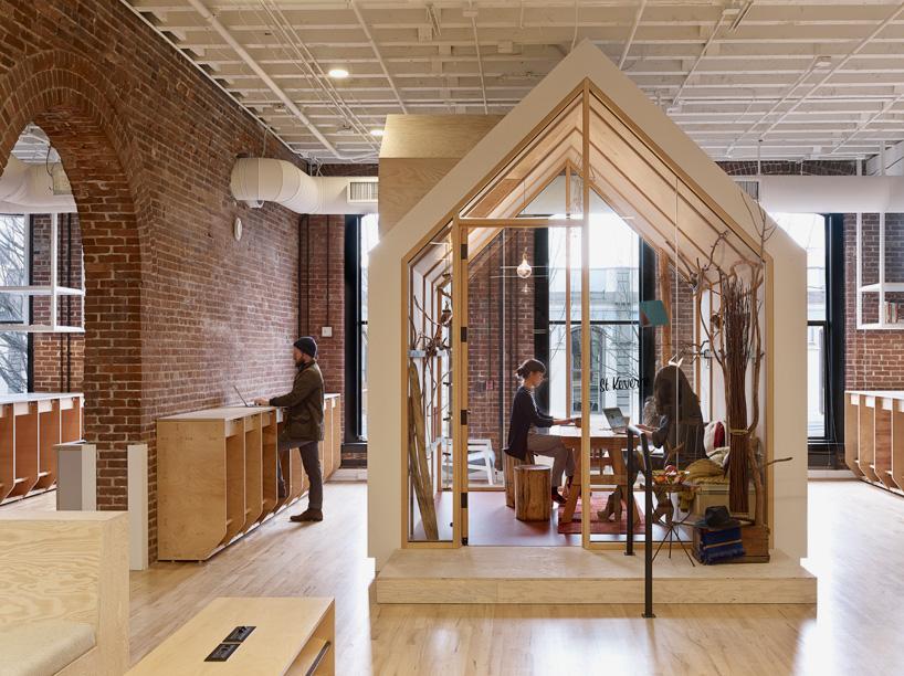 Le nouveau Call Center d'Airbnb Portland n'a rien du cauchemar