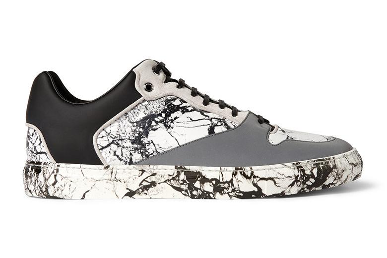 Les sneakers marbrées de Balenciaga