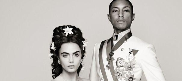 Le film de Chanel avec Pharrell Williams et Cara Delevingne dévoilé en intégralité