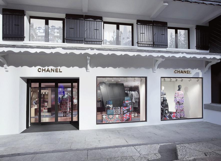 Chanel prend ses quartiers d'hiver à Courchevel