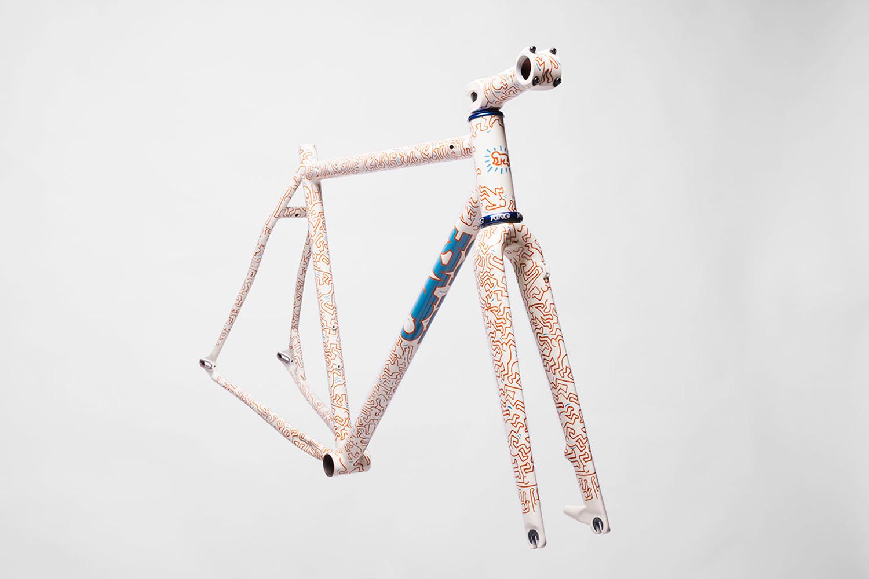 Coarse x Keith Haring: quand le vélo s'habille de Pop art