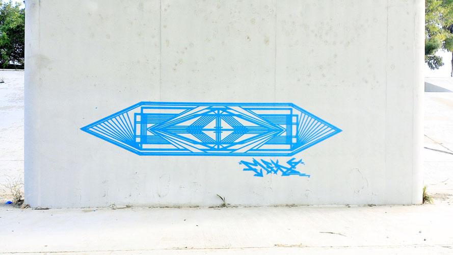 Flëkz, Tape Art