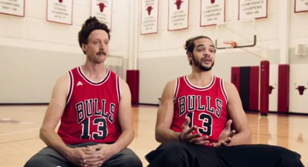 Adidas x NBA : nouvelle campagne TV avec Joakim Noah et Kenneth Faried