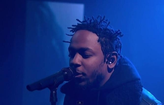 Kendrick Lamar révèle un nouveau titre sur le plateau de «The Colbert Report»