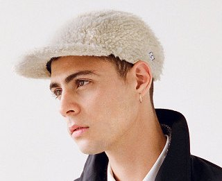 Les casquettes Pine x Larose Paris automne-hiver 2014