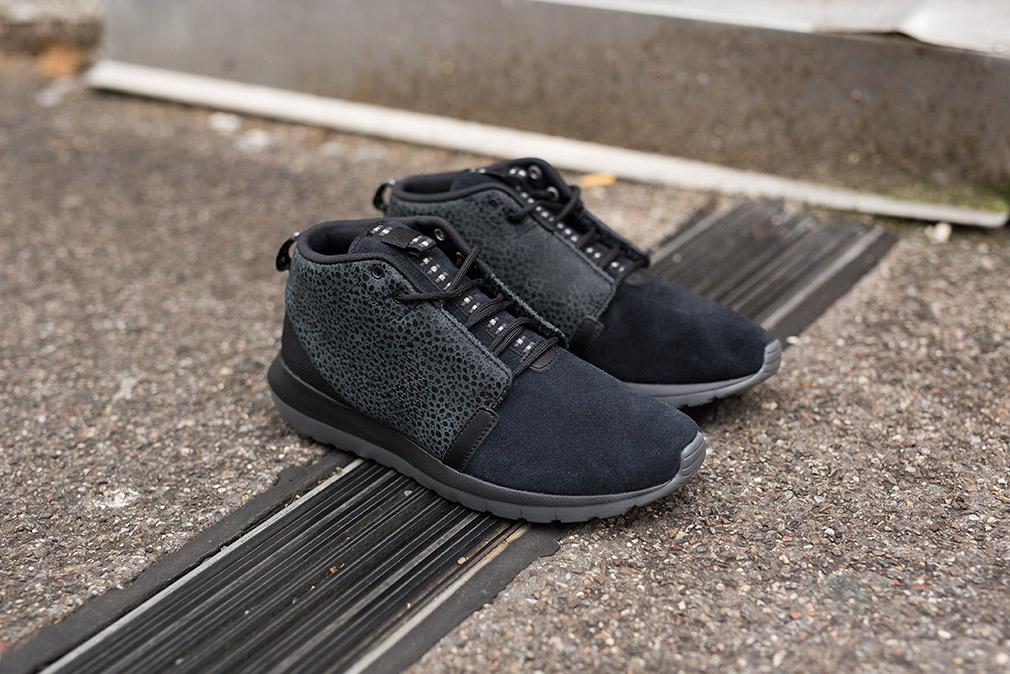 Nike Roshe Run NM Sneakerboot «Black Safari»