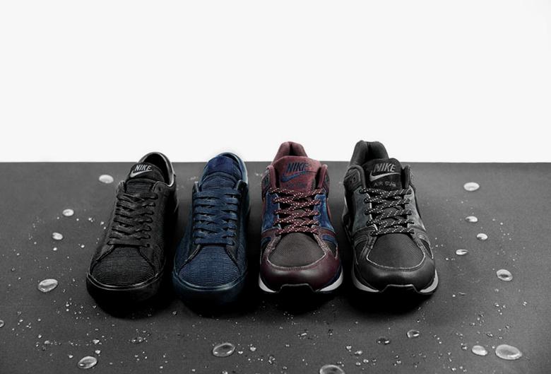 Nike x size? : air stab & tennis classic hiver 2014