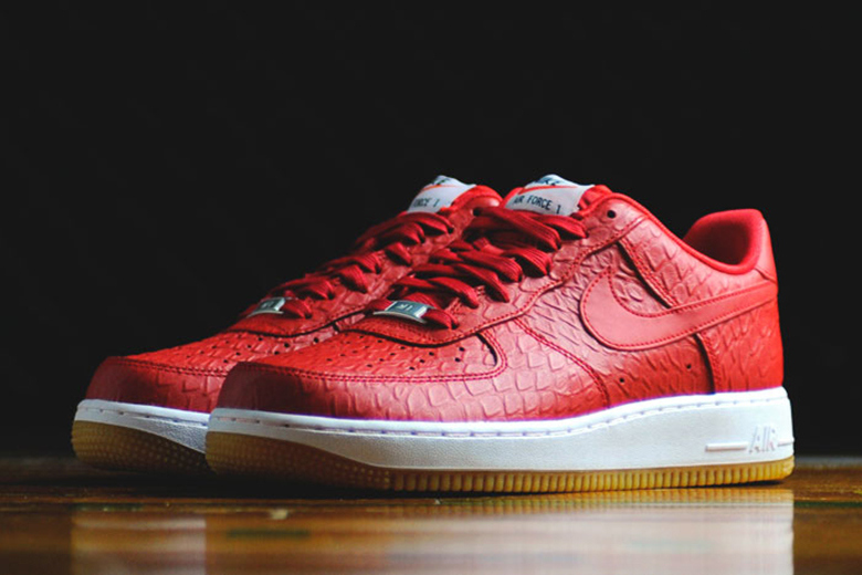 Nike Sportswear Air Force 1 '07 LV8 « Croc and Gum » Pack