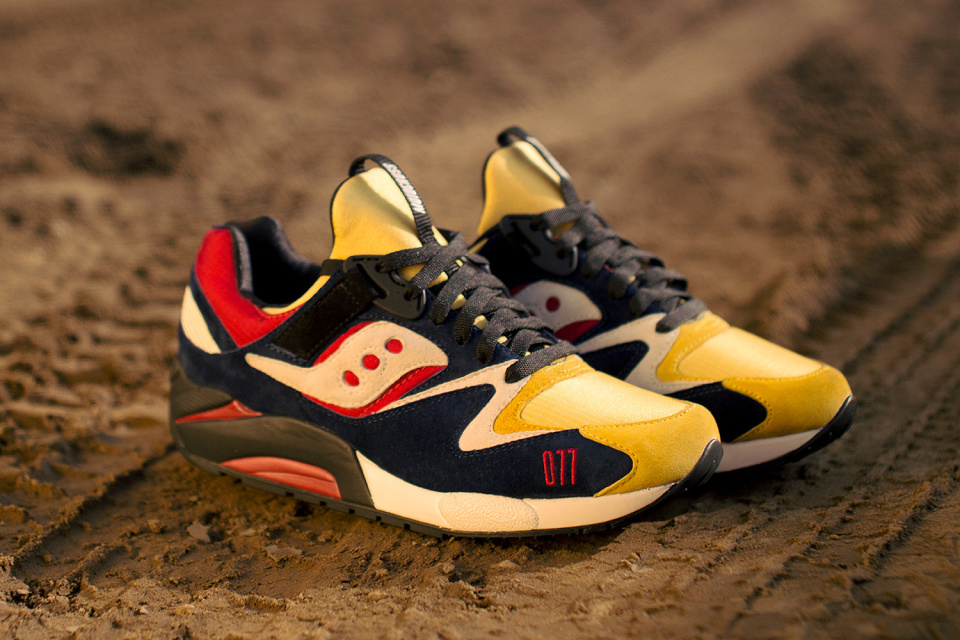Play Cloths x Saucony Grid 9000 « Motocross »