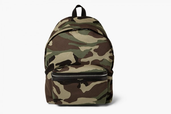 Saint Laurent sac à dos camo