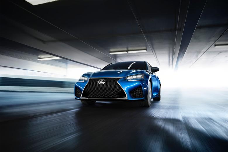 Nouvelle Lexus GS-F présentée au salon de Detroit