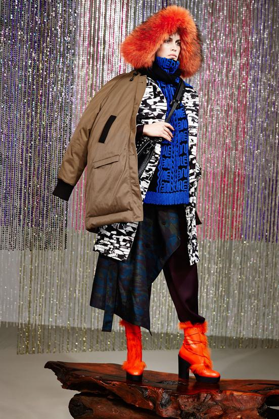 kenzo pré-collection automne 2015