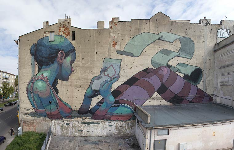 Aryz Street Art