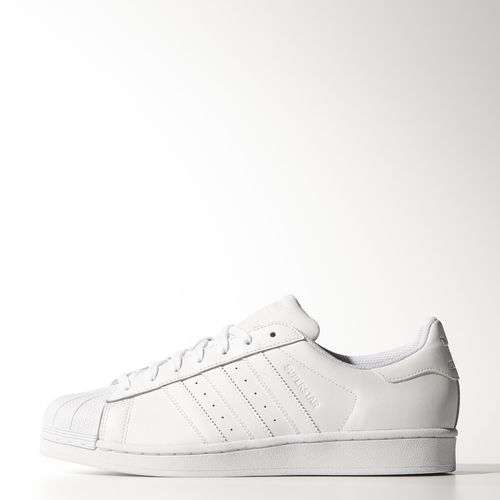 Adidas superstar 2 foundation pack all white