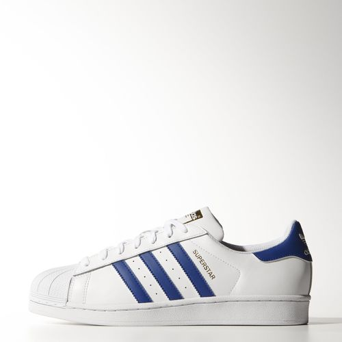 Adidas superstar 2 foundation pack white blue