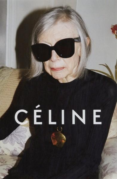 Joan Didion devient l'égérie de la Maison Céline