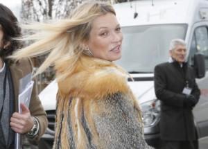 Kate Moss défilé Louis Vuitton