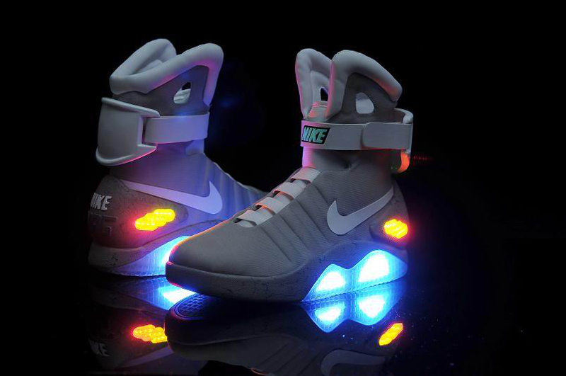 Nike Air Mag Back To Future Shoes Mens Nike Back To The Future Sneakers SDH15-7028