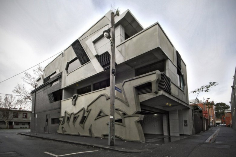 ITN Architects: le graffiti sculpté