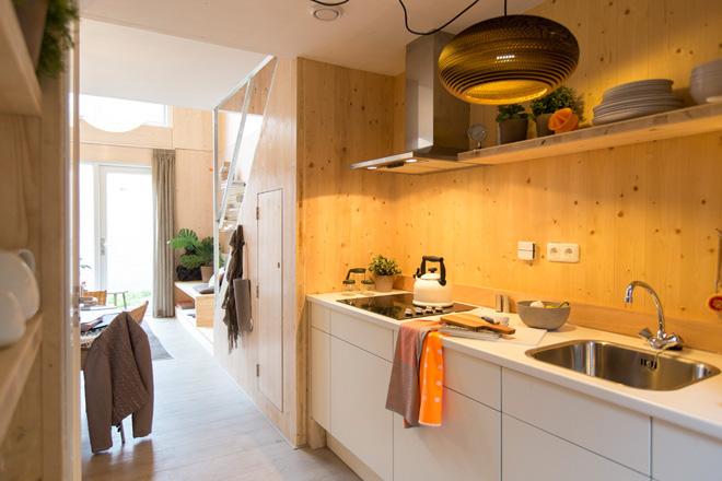 Heijmans ONE – Les maisons portatives d'Amsterdam