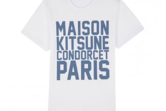 kitsune rue condorcet t shirt