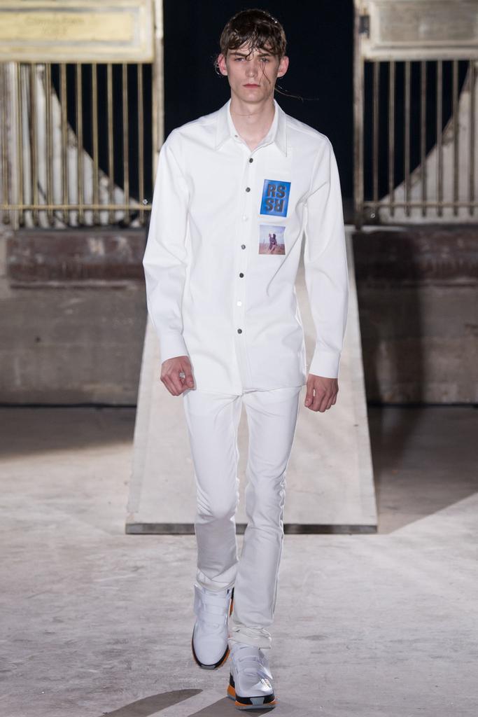 men fashion week FW15 raf simons