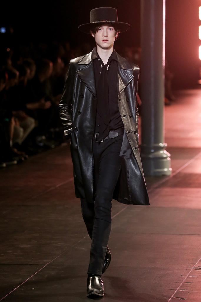 men fashion week FW15 saint laurent