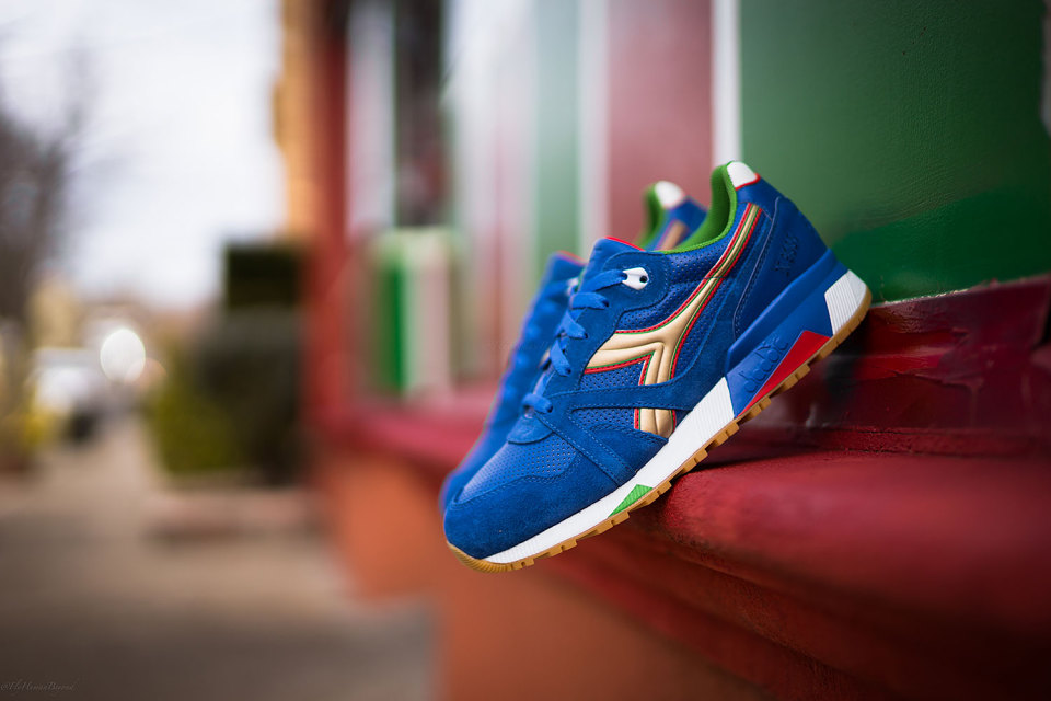 Packer Shoes x Diadora N9000 « Azzurri »