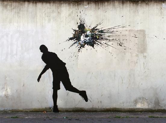 Le street art selon Pejac