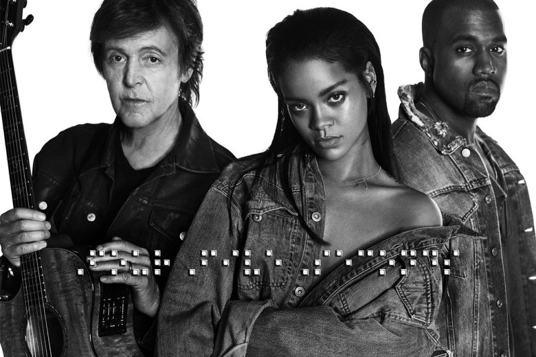 Rihanna, McCartney et West-FourFiveSeconds