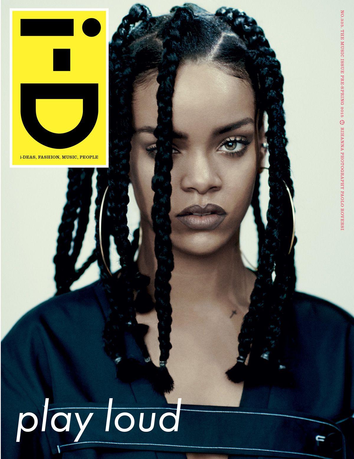 Rihanna fait la couverture d'i-D